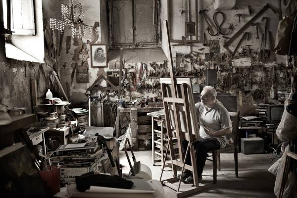 L'atelier du peintre.  (photo: Chris Ryan)